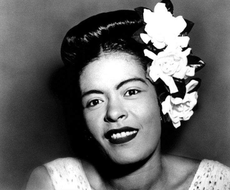 Billie Holiday was a great Jazz singer, his real name was Eleanor Fagan Gough. Born in 1915 died early in 1959