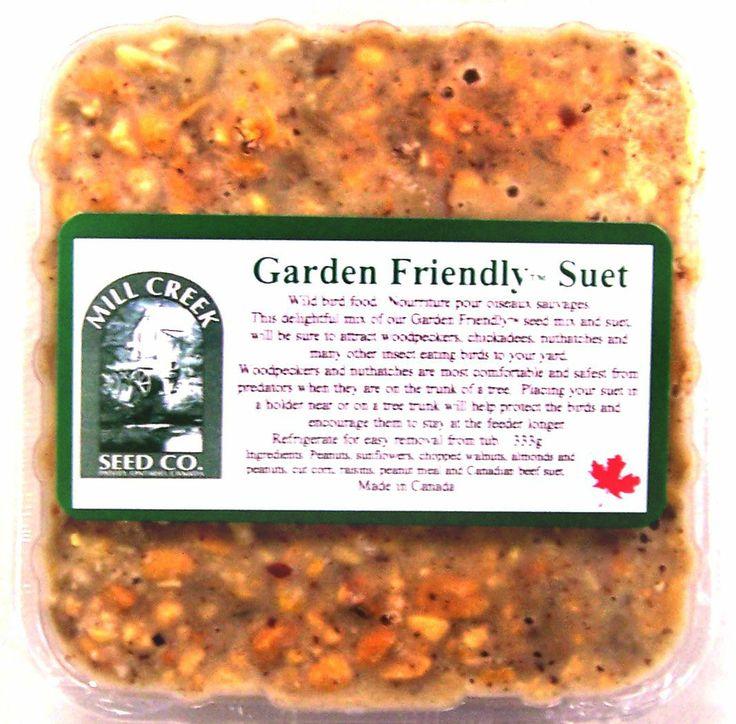 MC-GF Mixed Nut Garden Friendly Suet Cake. 333 grams.