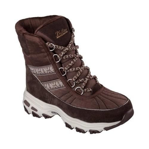 Women's Skechers D'Lites Chateau Cold Weather Boot