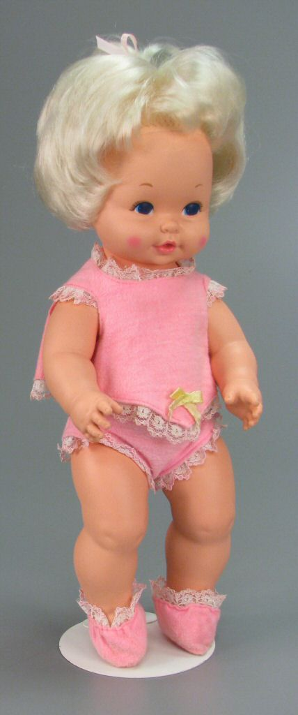 111.3846: Baby Tenderlove   baby doll   Baby Dolls   Dolls   National Museum of Play Online Collections   The Strong