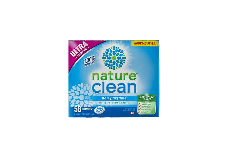 100% Natural Hypoallergenic Laundry Powder   Nature Clean