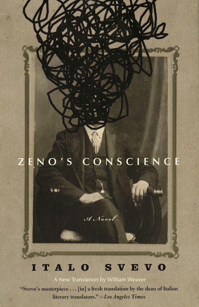 Zeno's Conscience: A Novel, by Italo Svevo. Cover design by John Gall for Vintage Books.