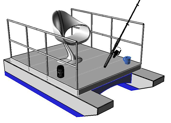 Pontoon Boats    For low budget, and a lots of deck space, you just can't beat a pontoon boat. For small ponds here's a    Mini Pontoon Boat…  cncboatshop.com/pontoon-boats