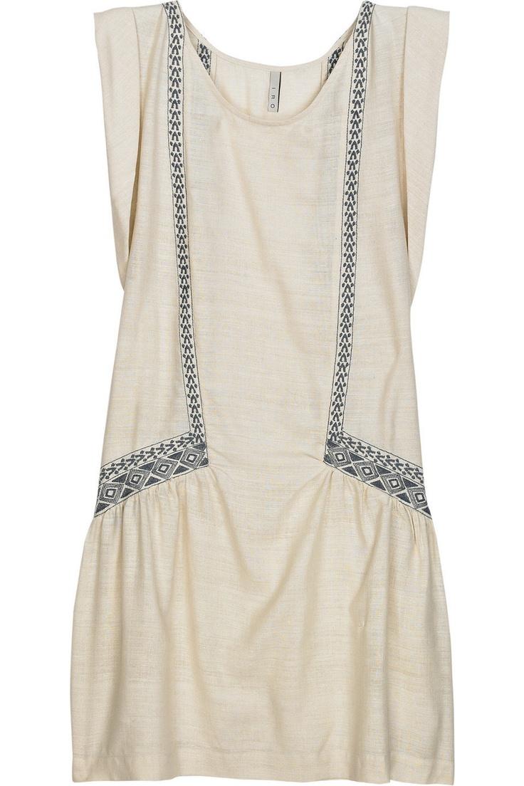 dress, silk - iro ravehFashion, Embroidered Silk, Silk Dresses, Style, Clothing, Raveh Embroidered, Iroraveh, Capsule Wardrobes, Iro Raveh