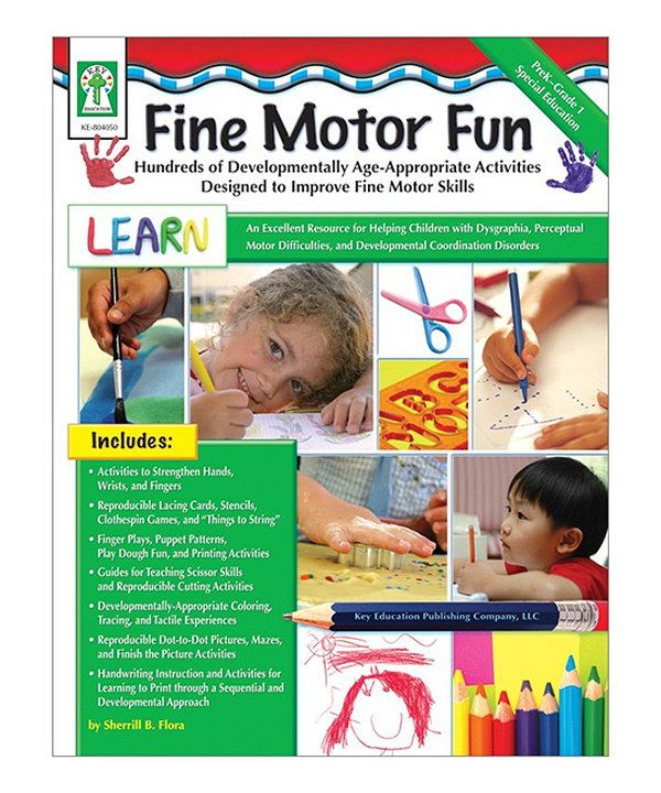 Look at this Fine Motor Fun Paperback on #zulily today!