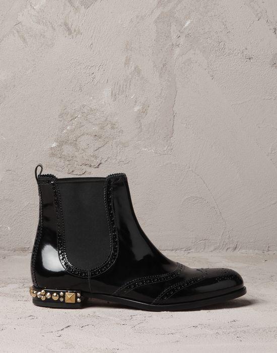 calfskin boy ankle boots Women - Shoes Women on Dolce&Gabbana Online