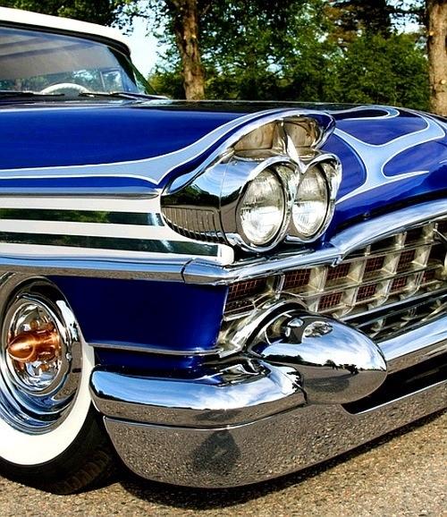 91 Best 50's & 60's Style Kustom Cars Images On Pinterest