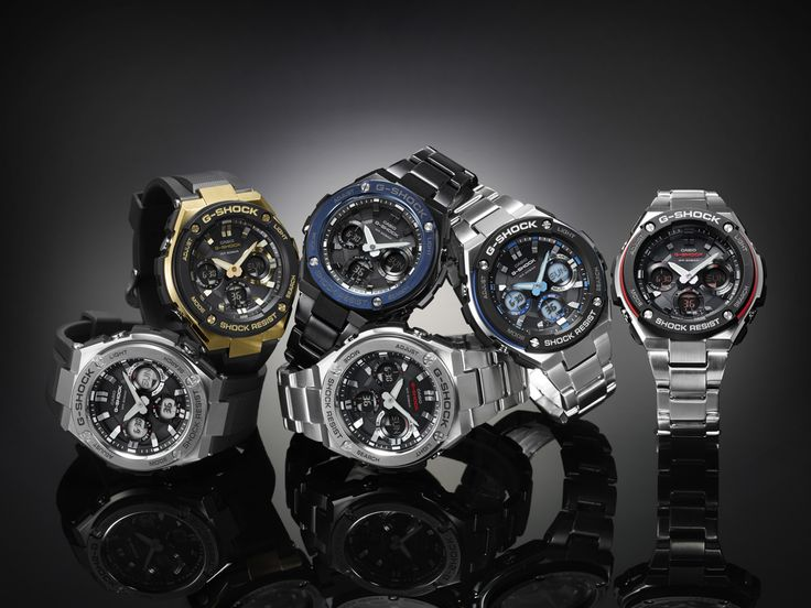 Give your Fashion a Taste of Technology with the Trendsetter ‪#‎Gsteel‬ Gshock!