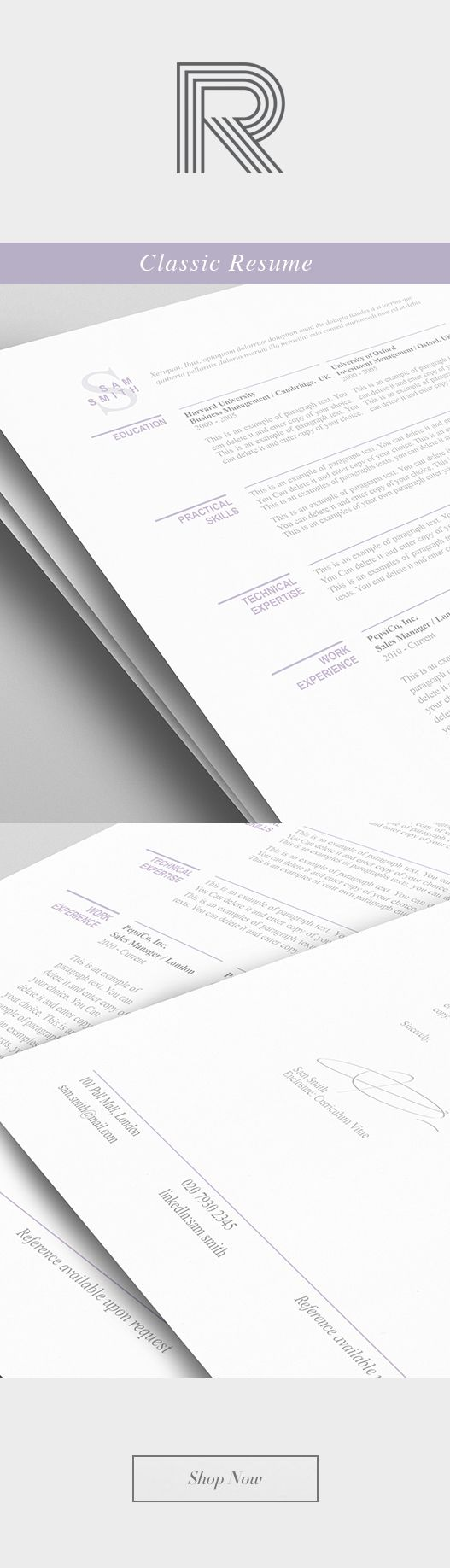 126 best images about resume curriculum vitae on pinterest