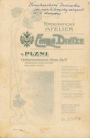 Emil Dietz,Plzeň