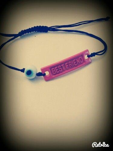 Handmade bracelet -best friend