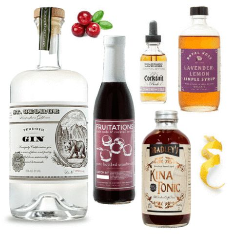 Crafted Taste Cocktail Kit - Lusty Lady #CocktailKit #cocktails