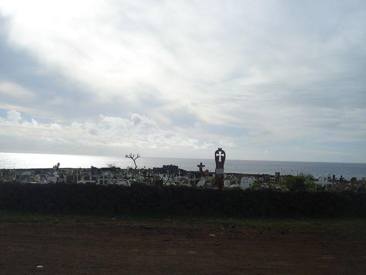 Cementerio de Hanga Roa, Rapa Nui (2014)