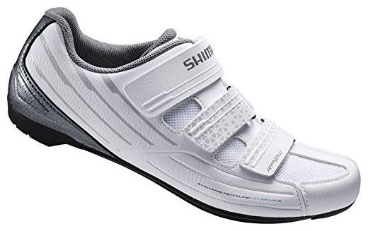 Shimano Damen Fahrradschuhe Rennradschuhe SH-RP2W SPD-SL 3 Klettverschl., Weiß, 43, ESHRP2NG430WW00 - Damen pumps (*Partner-Link)