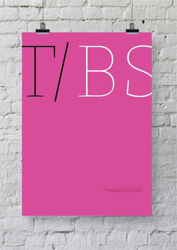 TBS by Grafik BS , via Behance