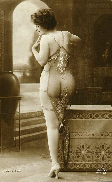 Vintage French postcard.