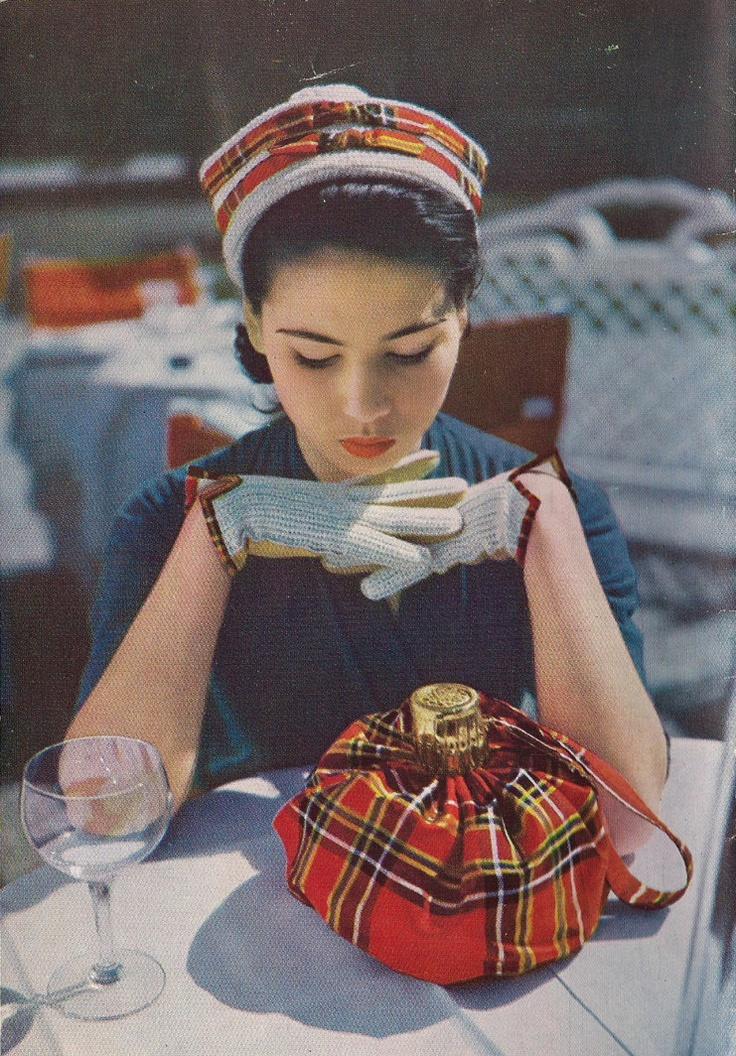 1950s tartan 3-piece set