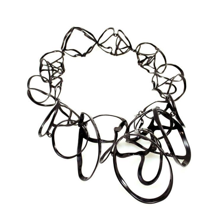 Open Weave Cluster Collar