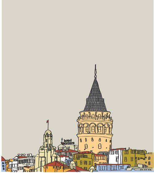Galata Kulesi, #Istanbul
