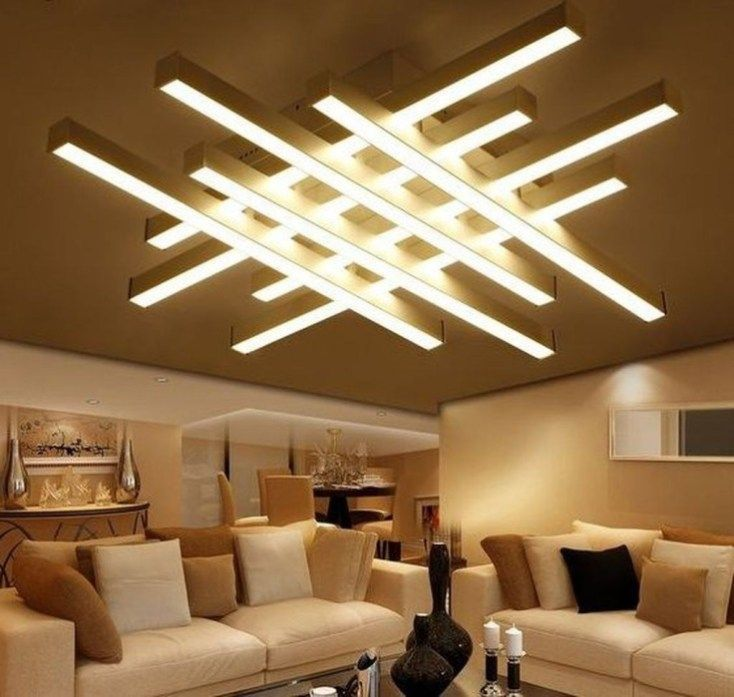 Affordable Ceiling Design Ideas With Decorative Lamp 25