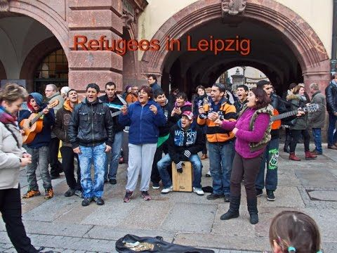 Refugees in Leipzig and musical performance