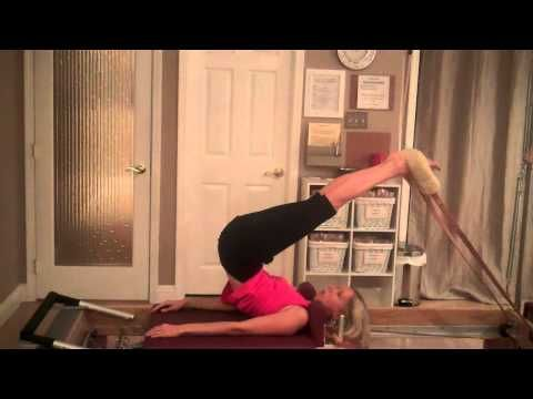 Pilates Reformer:  Routine for Low Back Soreness