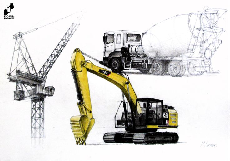 Machines study made in DOMIN Radom drawing school by Michalina Gradzik/ Studium maszyn wykonany w szkole rysunku DOMIN Radom przez Michalinę Gradzik https://web.facebook.com/DominRadom?_rdr