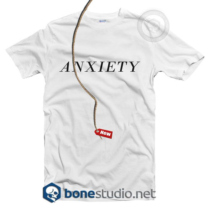 Anxiety T Shirt – Adult Unisex Size S-3XL