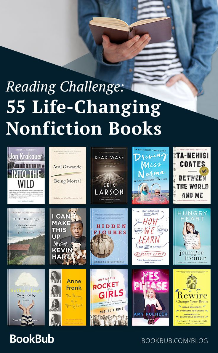 Reading Challenge 55 Nonfiction Books To Read In A Lifetime With