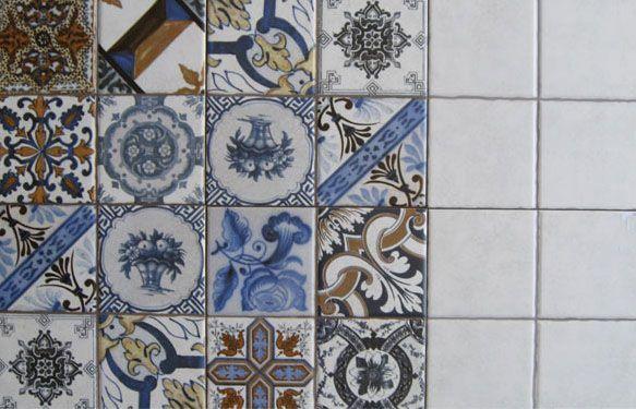 πλακάκια 20χ20 σε ματ σε λευκό αλλά και σε σχέδιο σειρά lombardia