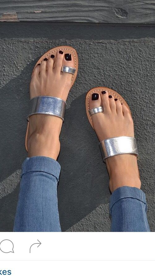 Silver toe ring                                                                                                                                                     More