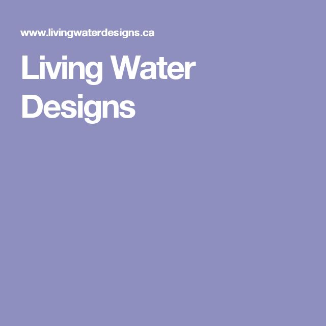 Living Water Designs