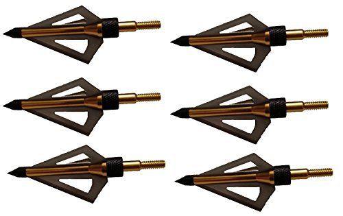 100 Grain Fixed Blade Broadhead (6 Pcs/pack) ...