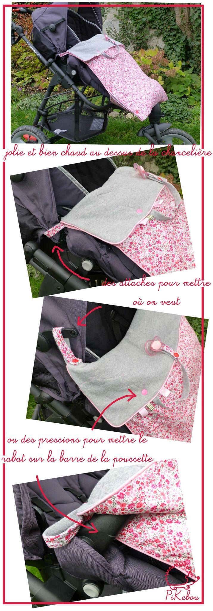 couverture poussette bébé confort