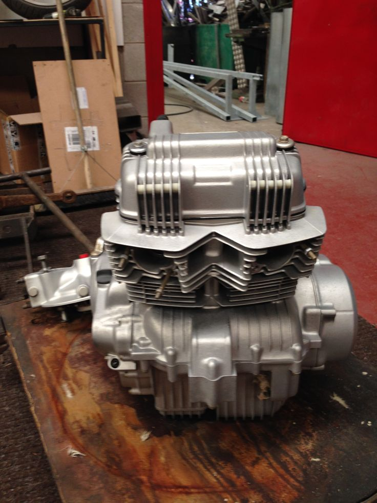 honda engine vapour blasted by Donegal powdercoating company