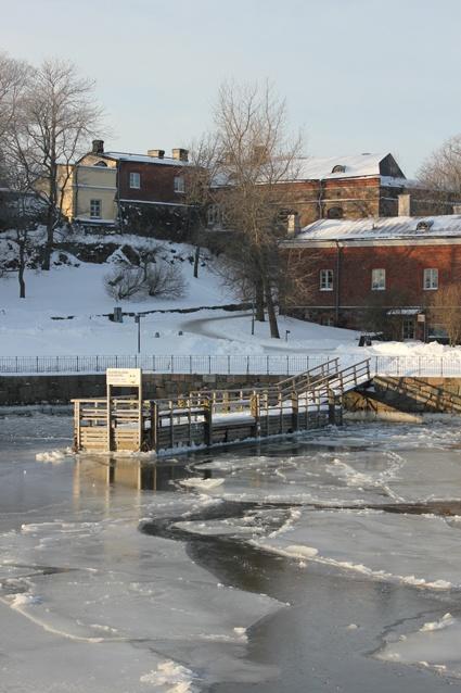 Winter in Suomenlinna
