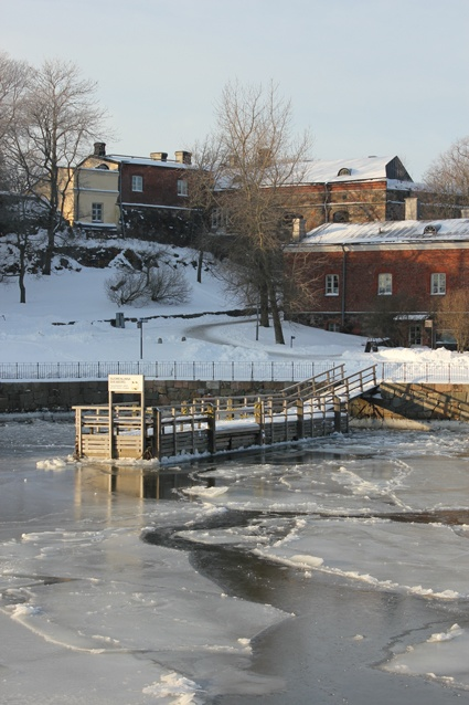 Winter in Suomenlinna
