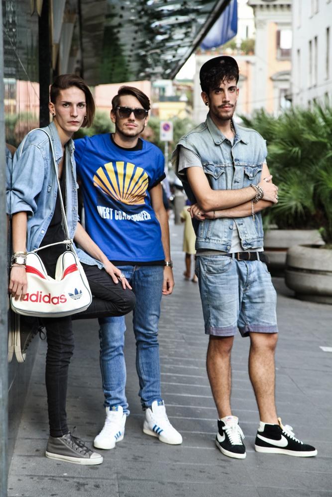 Vincenzo Malinconico, Antonio Ambrosini e Salvatore Spiezio @ AW LAB Style Van Napoli