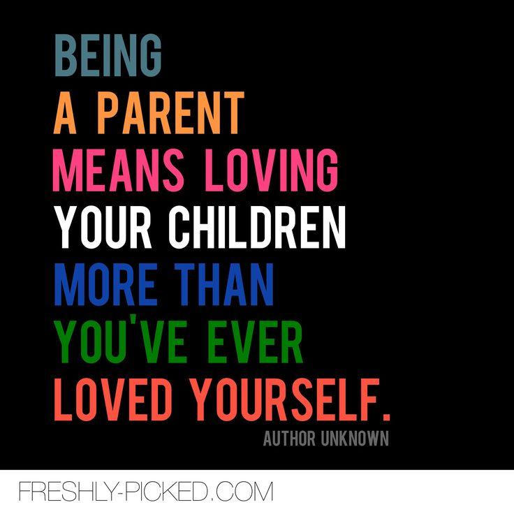 Being a parent #motherhood #parenthood #quote