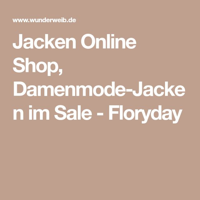 Jacken Online Shop, Damenmode-Jacken im Sale - Floryday