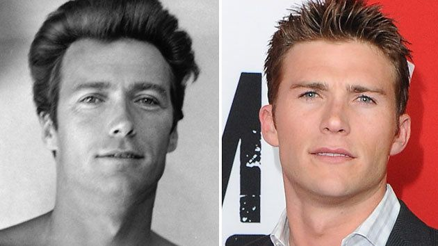 Clint Eastwood and Scott Eastwood.