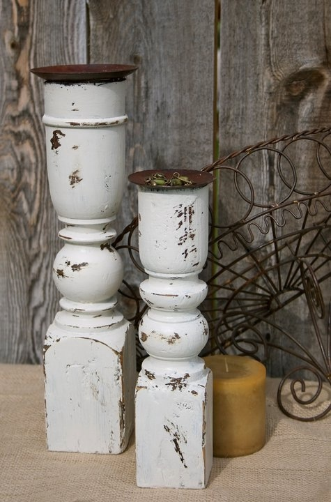 17 best ideas about christmas candle holders on pinterest for Wooden candlesticks for crafts