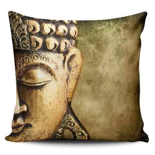 Cojin Decorativo Tayrona Store Cara Buda 04 - $ 43.900