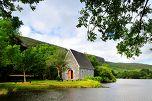 St. Finbarr's Oratory in Gougane Barra, County Cork, Ireland