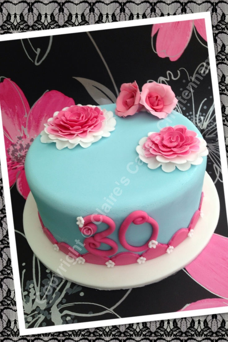 1000 Images About 30th Birhday Cakes On Pinterest 30th