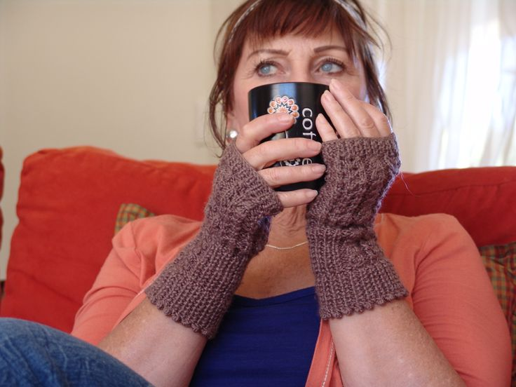 Mohair Mitts