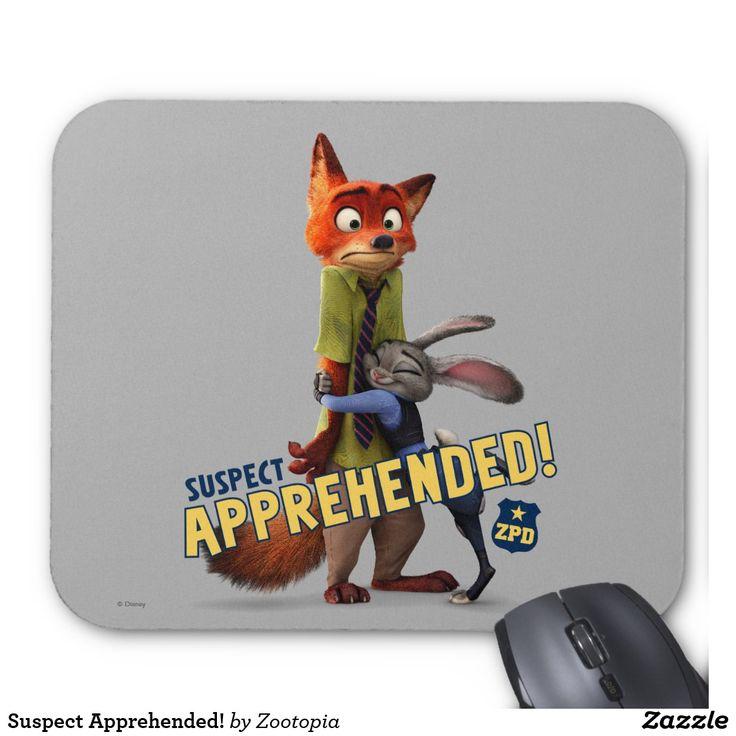 Suspect Apprehended! Producto disponible en tienda Zazzle. Tecnología. Product available in Zazzle store. Technology. Regalos, Gifts. #Mousepads