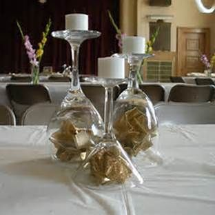 50th Wedding Anniversary Table Centerpieces