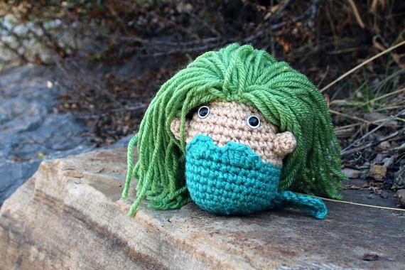 Marshmallow Mermaid crochet pattern