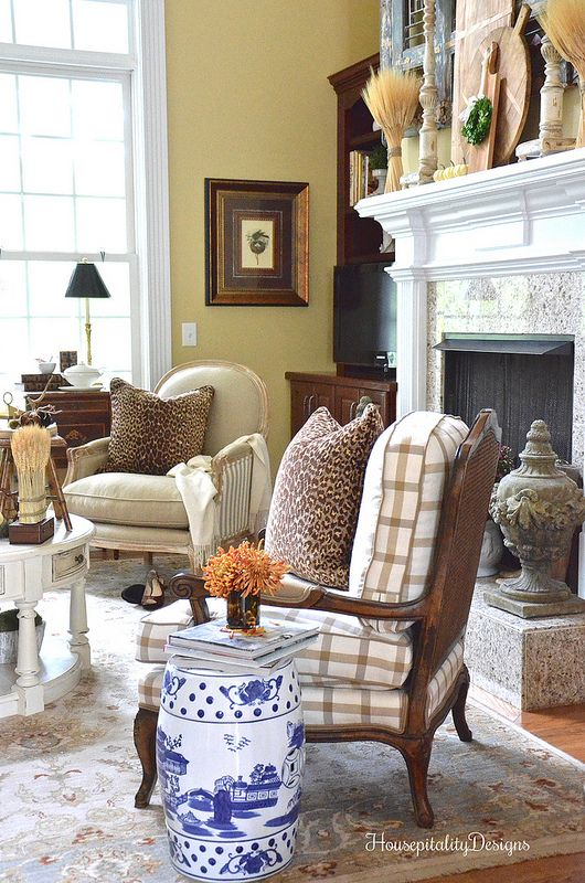 Great Room - Soft Surroundings Fall Blog Tour - Housepitality Designs